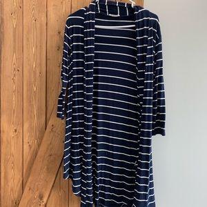 Sweaters - Women's striped sweater